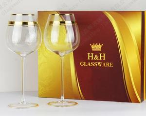 Golden wine set