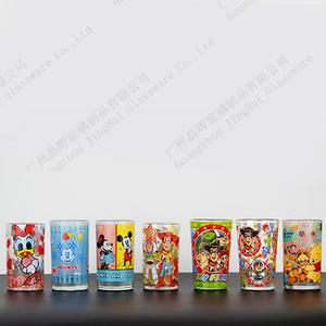 Promotional glass cups for disney